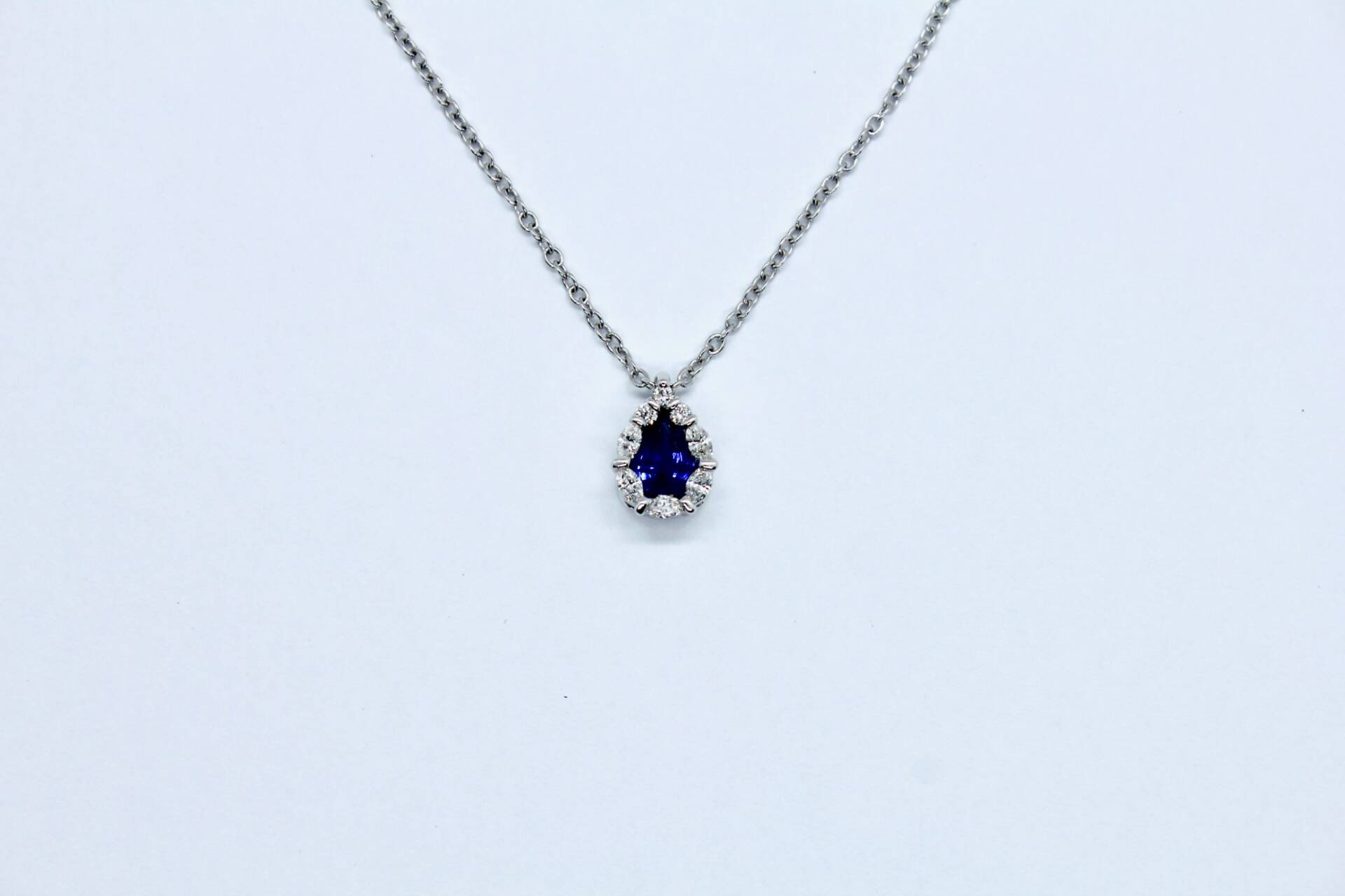 Girocollo Zaffiro Blu